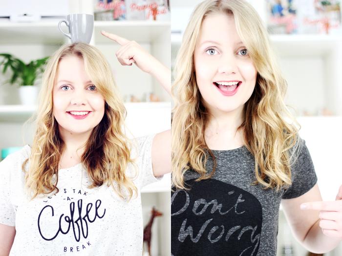 Foto: Youniqueblog.nl - Kijk Femke eens shinen in haar t-shirts!