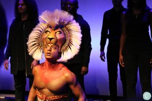 The Lion King in het AFAS Circustheater in Scheveningen.